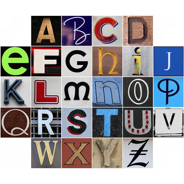 Alphabet 48