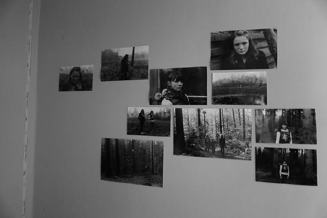 A photograph of photographs