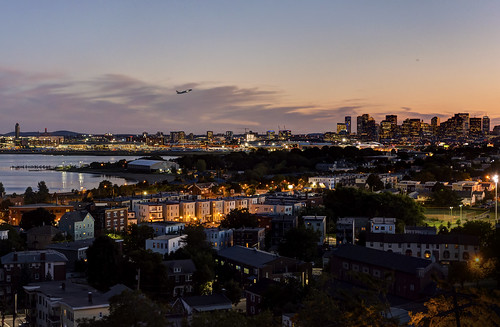 Logan Airport and Boston Skyline from East Boston - 2014-09-03 | by BillDamon