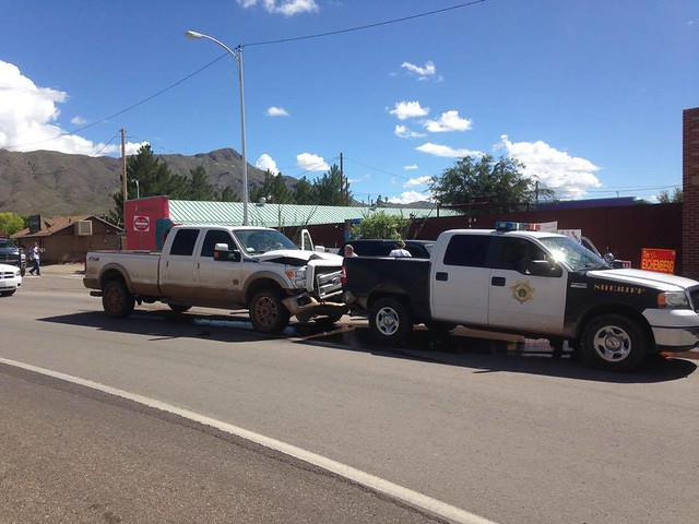 Sheriff's office rear-end collision