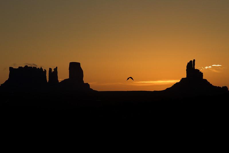 Flying sunrise