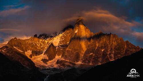 montagne nuage chamonix coucherdesoleil lesdrus