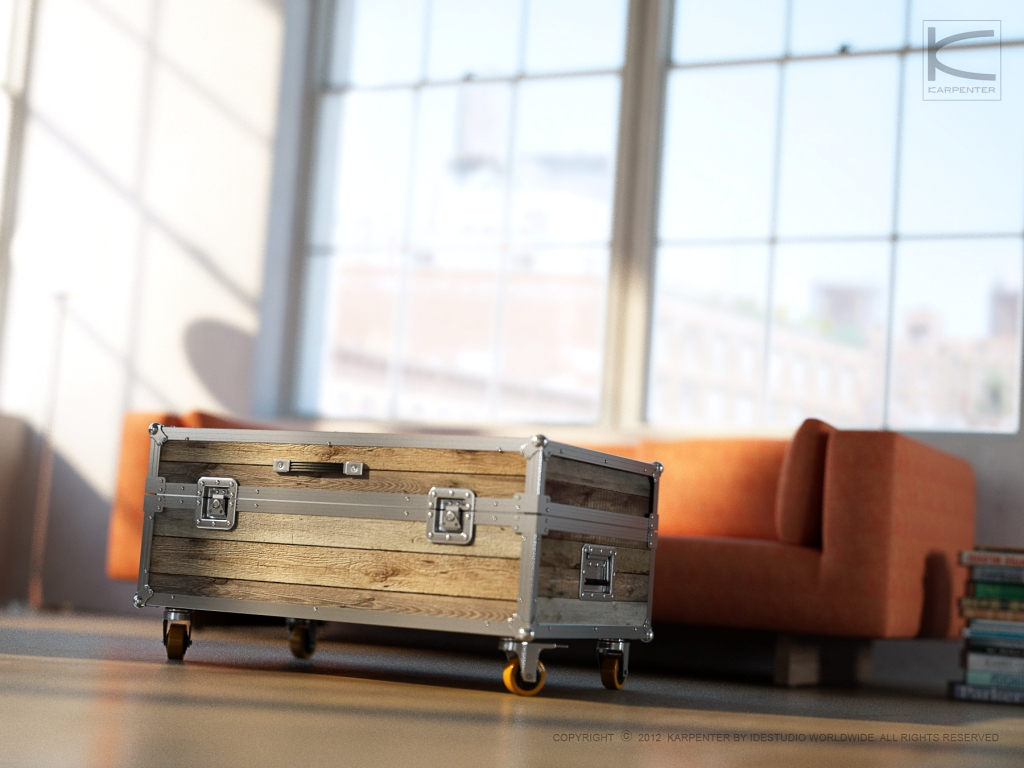 Roadie Trunk Coffee Table The Rodie Small Trunk Is A Moder