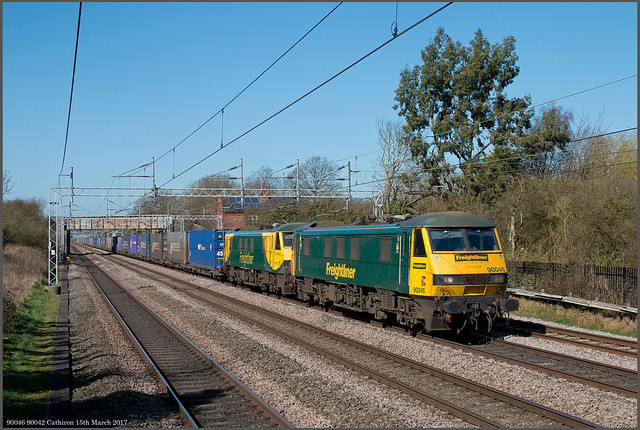 90046 90042 Cathiron 15th March 2017