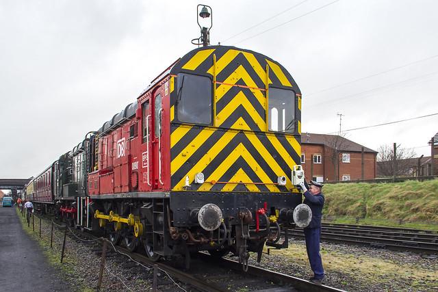 DB Schenker Class 08 No. 08907