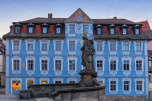 Bamberg, blaues Haus