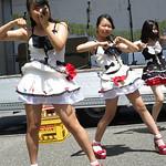 7/21ニューサンロード商店街夏祭り シャオニャン(3)なな・りー・ゆうり
