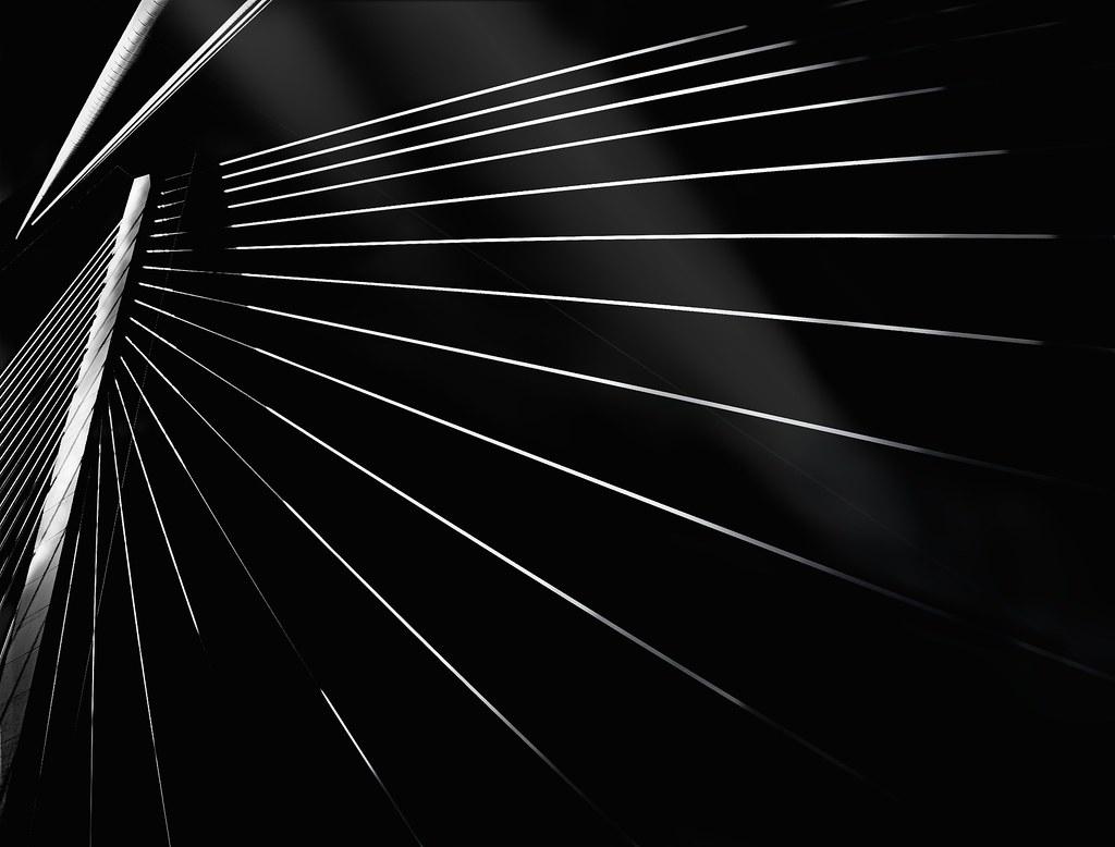 DESCENDING LIGHT II ~ RAVENEL BRIDGE CHARLESTON, S.C.