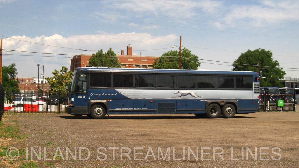 Greyhound 6538 Denver Maintenance Center (MCI 102DL3) | Flickr