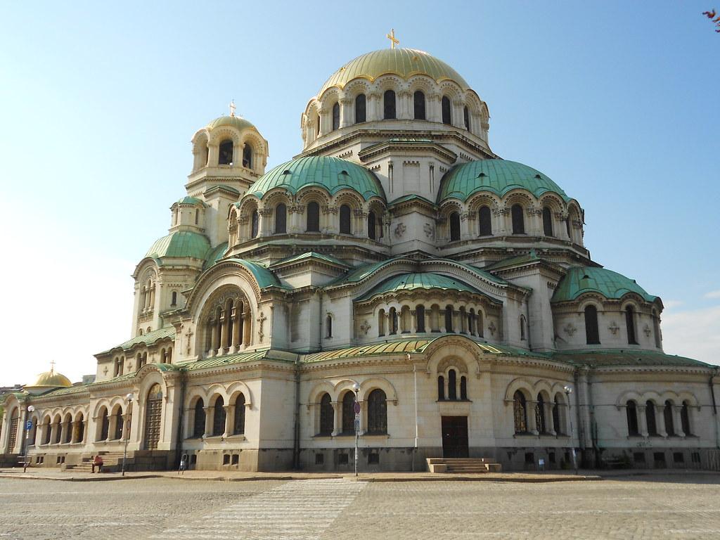 cattedrale, Aleksandăr Nevski, Sofia, Bulgaria
