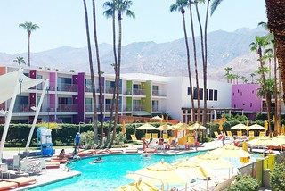 our vacation // the saguaro palm springs | by Jessica Rodarte