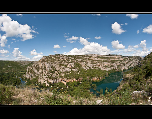 park blue sky clouds croatia slap 8mm walimex krka hrvatska samyan nationalparl roski kroatine nacionlni