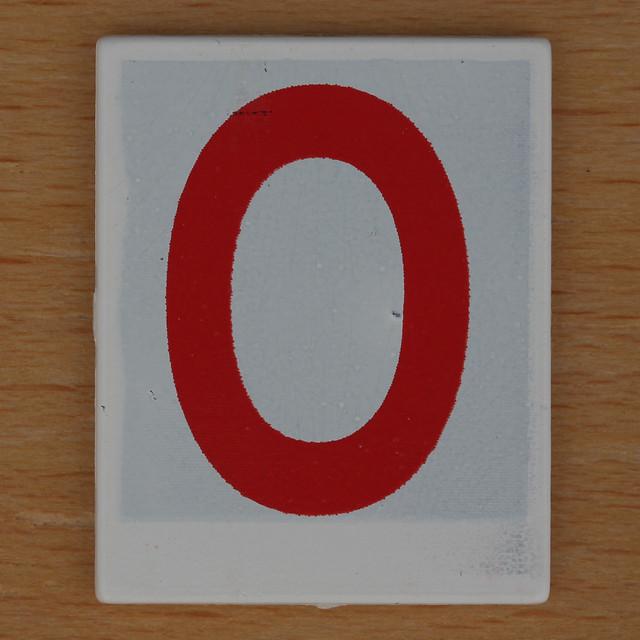 Hangman Red Letter O