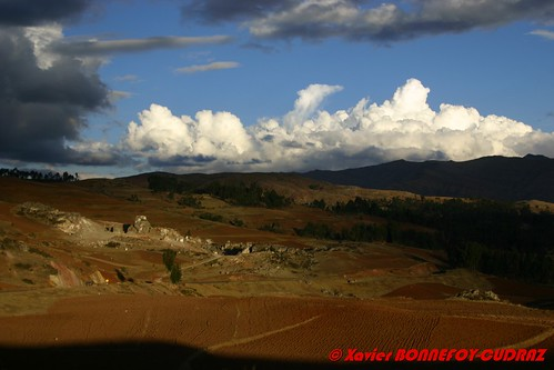 sunset peru cuzco paysage vallesagradodelosincas péroule