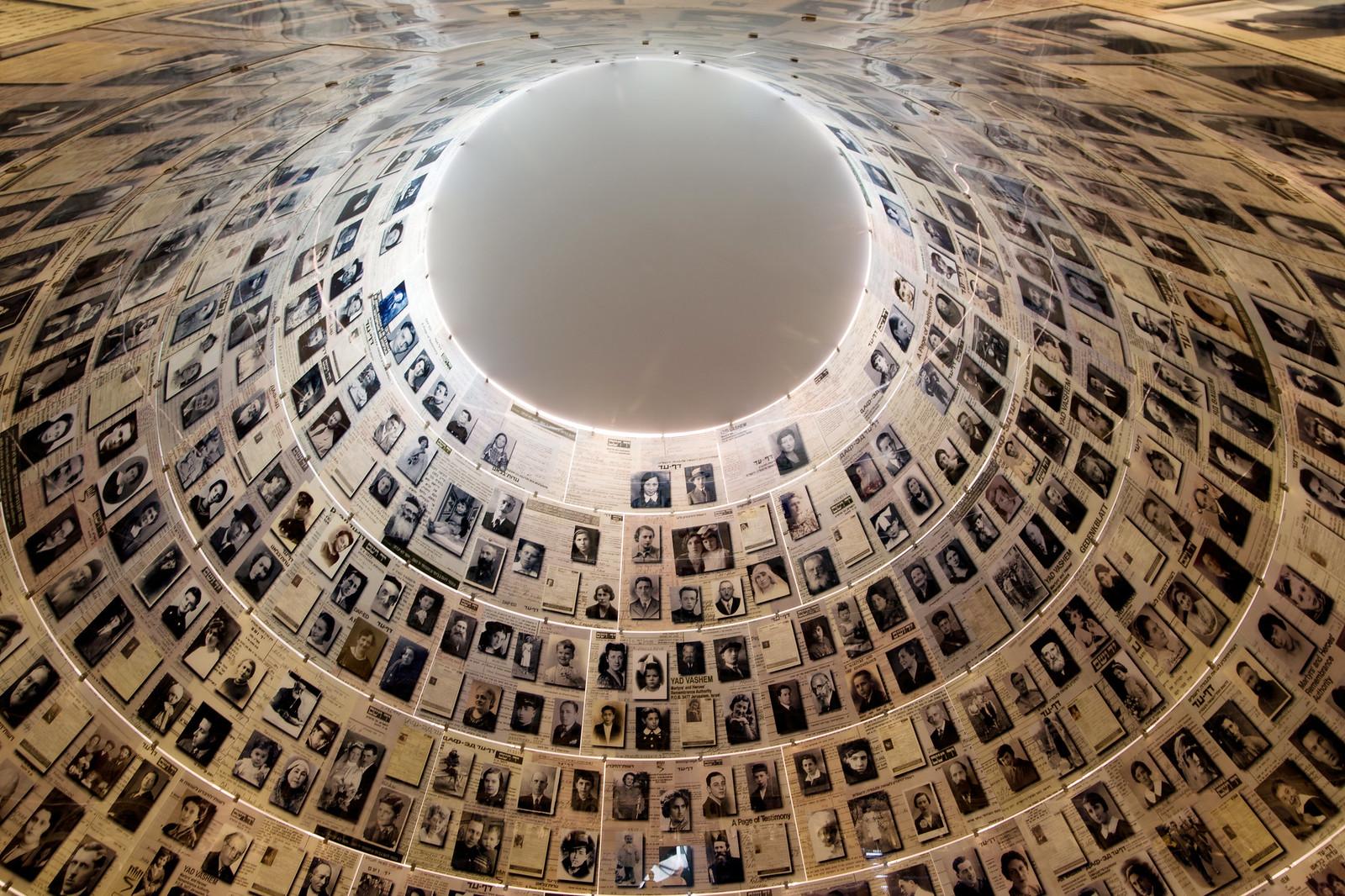 Yad Vashem, Holocaust Museum, Jerusalem - Hall of Names_ Noam Chen_ IMOT