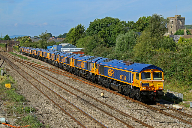 66753/757/758/765/759/760/762/761/764/763 0X66 Newport Docks to Doncaster Roberts Road