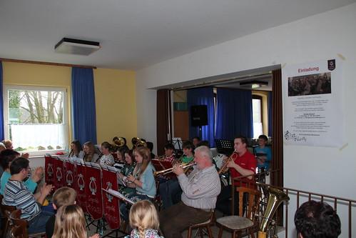 Schülerkonzert am 06.04.2014 mit Musiklehrer Hans Zankl