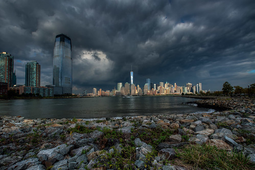 nyc ny newyork skyline jerseycity manhattan worldtradecenter wtc thebigapple freedomtower