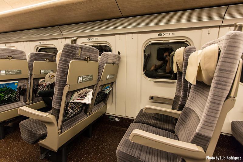 Clase estándar de un shinkansen E5