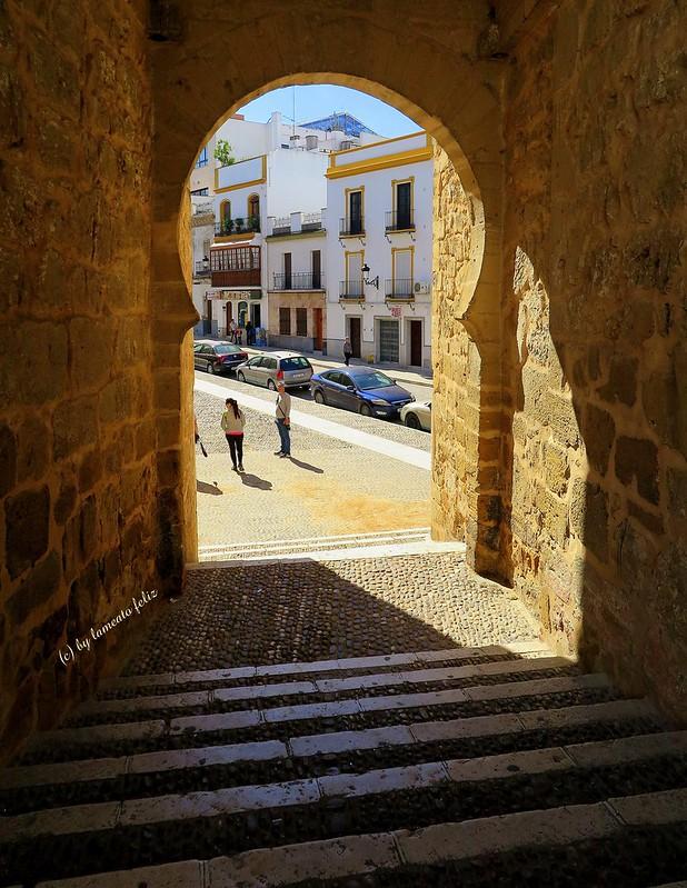 Arco de la Puerta de Sevilla o llamado también Arco de la Rosa-Marchena (Sevilla)