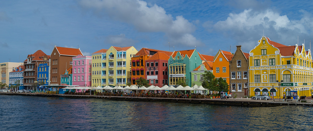 The Handelskade - Willemstad, Curacao | Lining the waters of… | Flickr