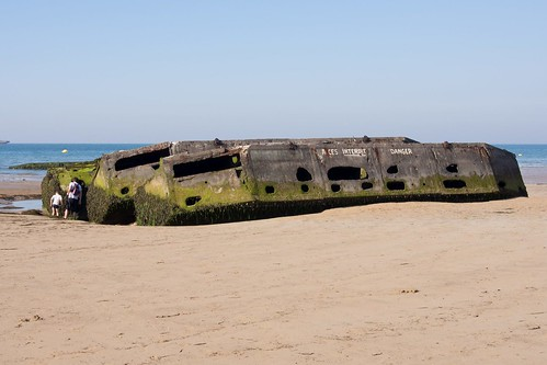 Mulberry Harbour remnant | by kpiau