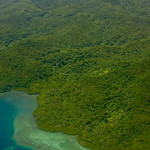 Thu, 12/16/2010 - 2:20pm - Aerial photo of Kadavu Island, Fiji showing extensive lowland rainforest extending to coastal coral reef.