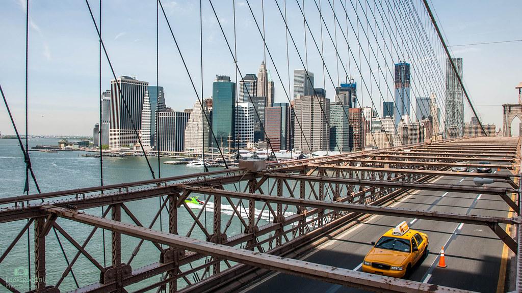 New York Brooklyn Bridge 4k Wallpaper Desktop Backgrou
