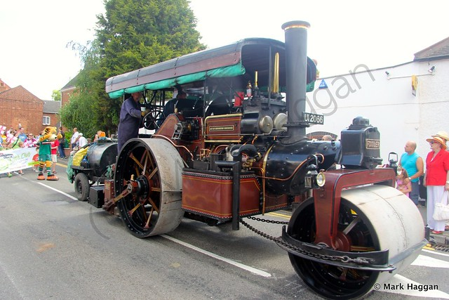 A steamroller from the City of Londonderry Corporation