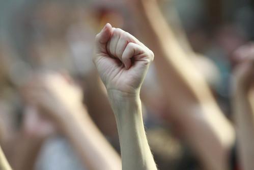 The fist | by pabak sarkar
