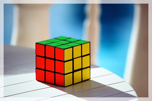 rubik's cube | by Neil Tackaberry