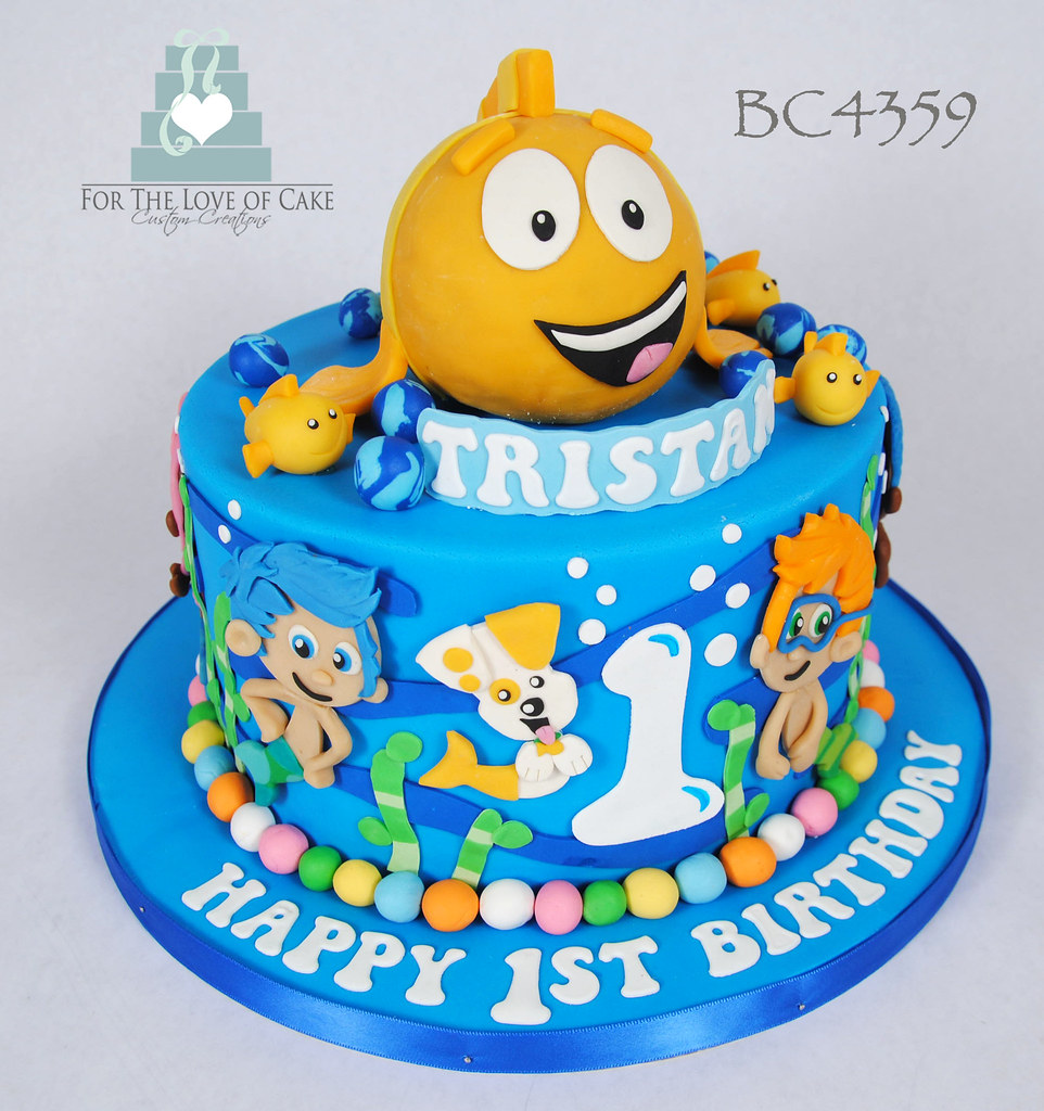 Astounding Bc4359 Bubble Guppies Birthday Cake Toronto Genevieve Finley Birthday Cards Printable Trancafe Filternl