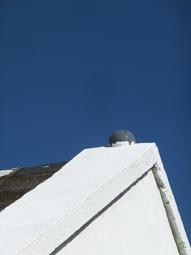 county blue ireland roof sky abstract art clare arty eire apex bluewhite countyclare eireann artofimages