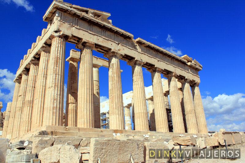 Acrópolis de Atenas. Partenón