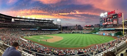 Nationals Park sunset #2 - 19 August 2014 | by randomduck