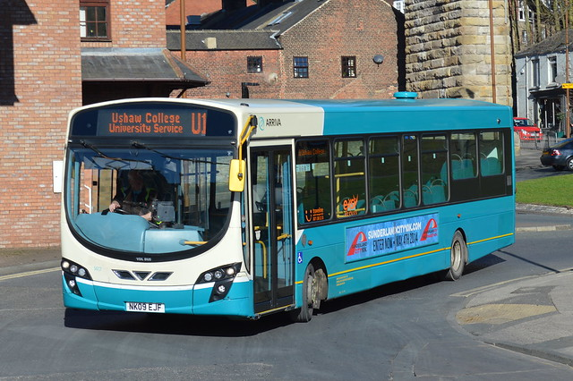 1417 (NK09EJF) Durham Bus Station U1