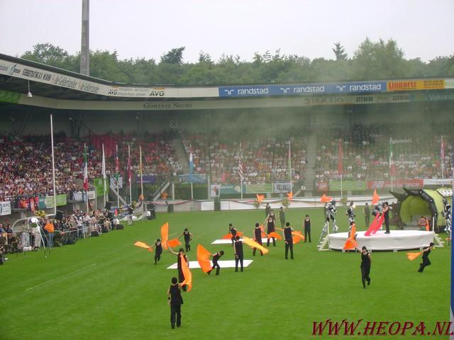 2007-07-16 Startbewijs op halen en vlaggen parade. (64)