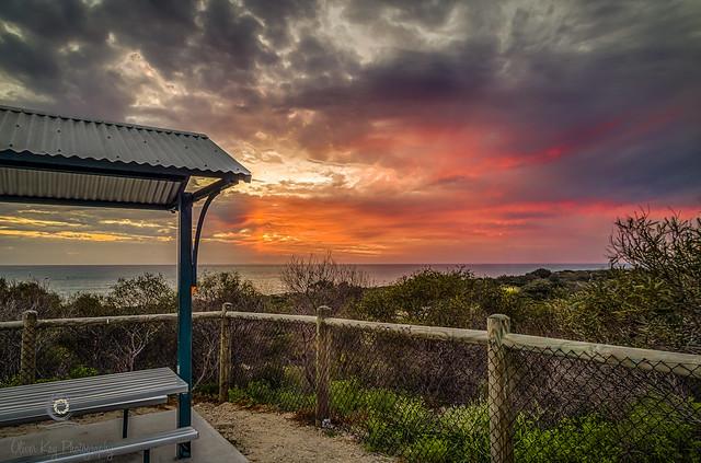 Picnic sunset