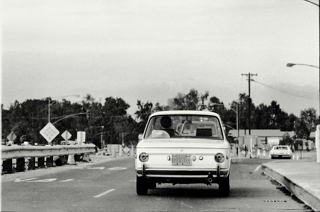 BMW 2002 on Seal Beach Bl at I-405