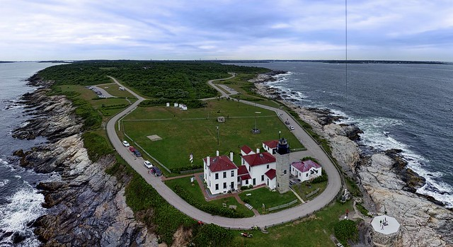 Beavertail Lighthouse Panorama I