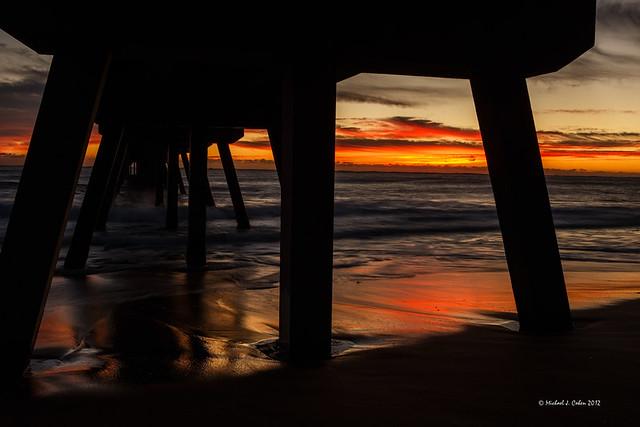 Deerfield pier sunrise-38