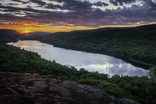 Sunrise over Lake of the Clouds | by christopher.d.heald