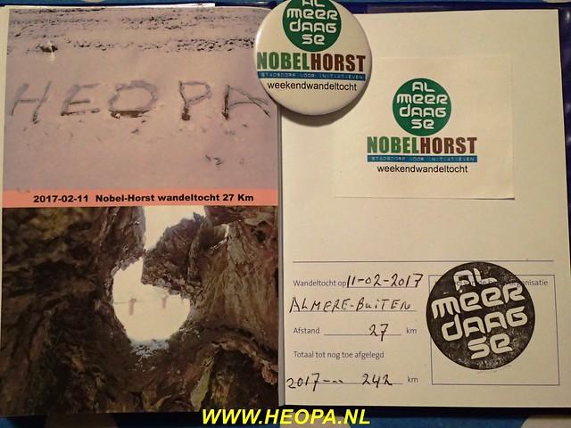2017-02-11       Nobel-Horst       Almere  26 Km (87)