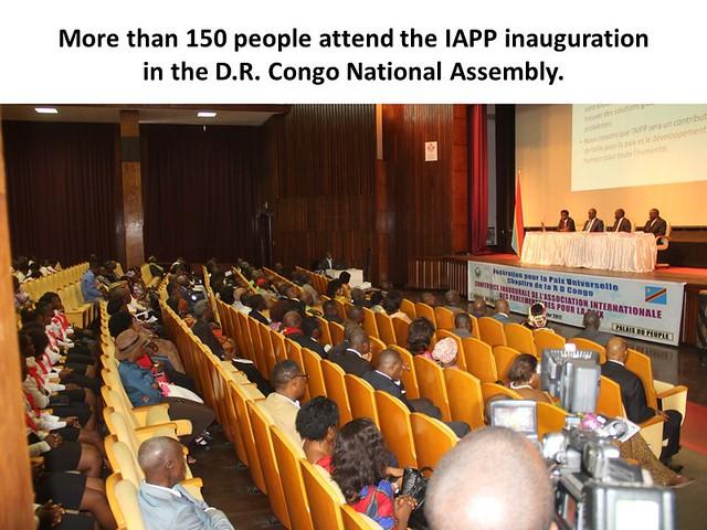 D.R.Congo-2017-01-21-Parliamentarians Association Welcomed in D.R. Congo