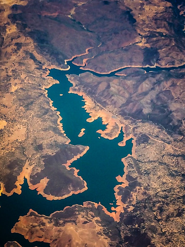 california ca usa mountain lake mountains water landscape us view unitedstates over aerial calif reservoir hills cal northern range grizzlyflats