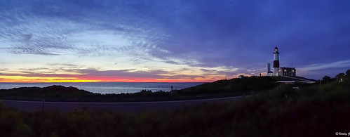panorama lighthouse sunrise point sony longisland montauk montaukpoint