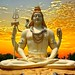 lord shiva sunset background