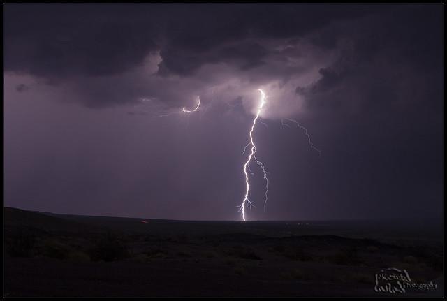 Lightning Strike East of Danby