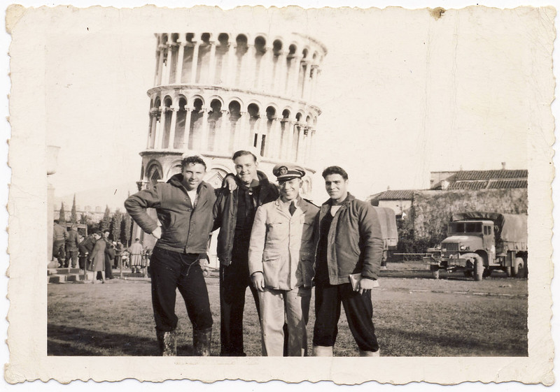 Fred in WWII: On the town in Pisa, 1944/45 (explore)