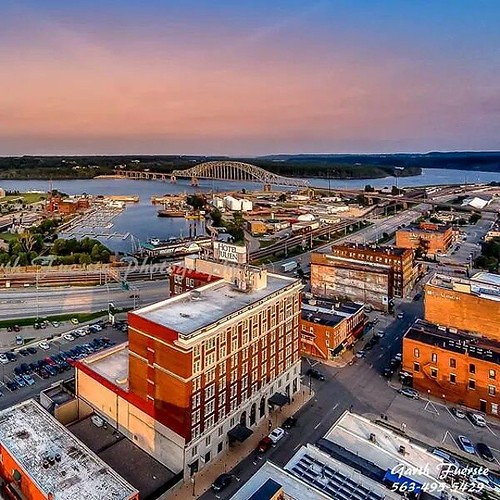#Downtown #Dubuque #Iowa #aerial #photography by @garthpic ...